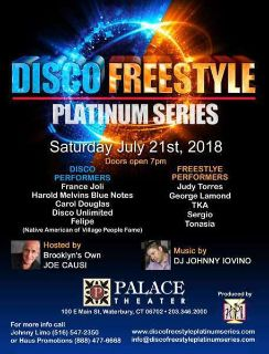 Tickets For Disco & Freestyle Concert Event
