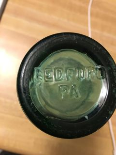 Old Coca Cola bottle with Bedford Pa on the bottom