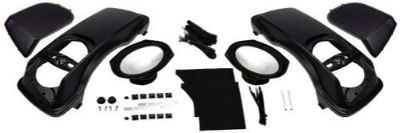 "Buy HOGTUNES 6x9"" Complete Saddlebag Lid Speaker Kit HARLEY-DAVIDSON Touring 98-13 motorcycle in Sorrento, Florida, United States, for US $589.95"