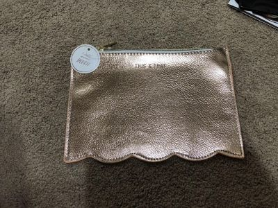 NWT Rose Gold This & That Makeup Toiletry Bag #2