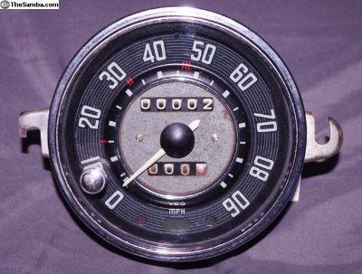 OG Late Beetle VdO Trip Speedo Speedometer