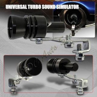 Buy XL-Size Black Turbo Sound Exhaust Blow off Valve Simulator Whistler Universal 1 motorcycle in Walnut, California, United States