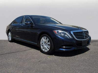 2014 Mercedes-Benz S-Class S550 4MATIC (Anthracite Blue Metallic)