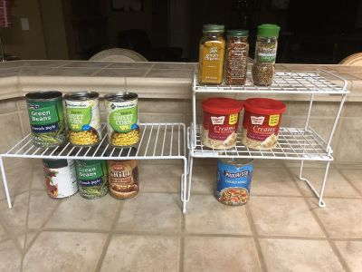 Pantry/Med Cabinet Organizer Stands