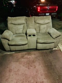 Electric Couch and recliner set e