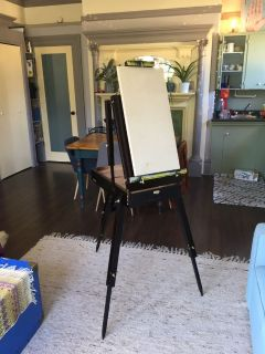 Collapsible Wood Easel