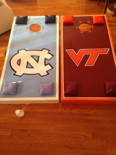 Custom made Cornhole boards