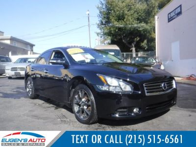 2012 Nissan Maxima 3.5 S (Crimson Black Metallic)