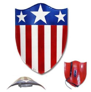 $79.99 Captain America 1940 Full Size Steel Replica Shield-Prop-Cosplay-Costume