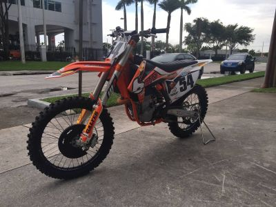 2015 KTM 450 SX-F Factory Edition Motocross Motorcycles Hialeah, FL