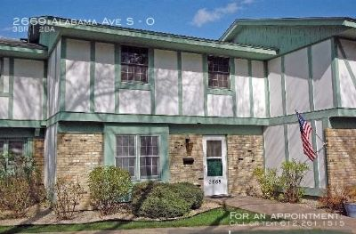 Townhouse Rental - 2669 Alabama Ave S