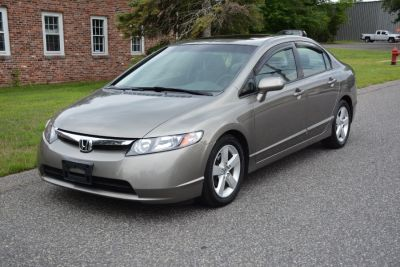 2008 Honda Civic EX (Tan)