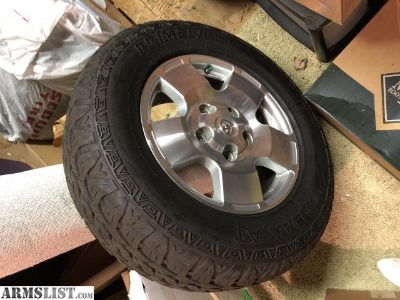 For Sale/Trade: Tundra Wheels Trade for Guns