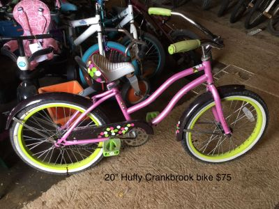 20 Huffy Crankbrook bike