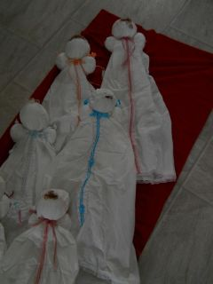 Handmade and Sewn Bed Doll