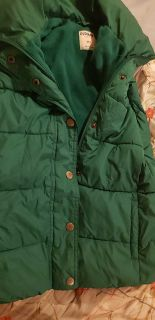 Old Navy kelly green puffer vest