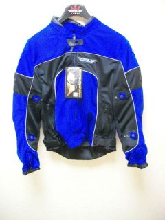 Find Fly Racing Coolpro II Mesh Jacket Mens Medium Jacket Blue/Black New! motorcycle in Searcy, Arkansas, US, for US $149.95