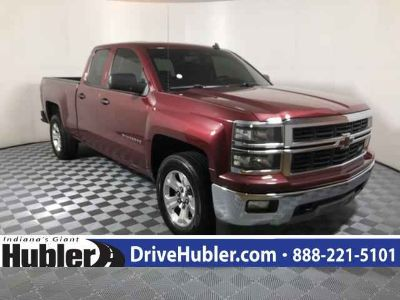 Used 2014 Chevrolet Silverado 1500 4WD Double Cab 143.5
