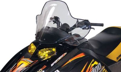 """Sell POWERMADD/COBRA 13040 WINDSHIELD 14.5"""" TINT SKI motorcycle in Plymouth, Michigan, United States, for US $92.10"""