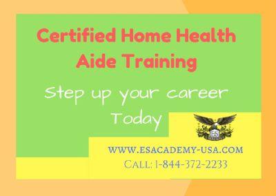 Certified HHA Training!