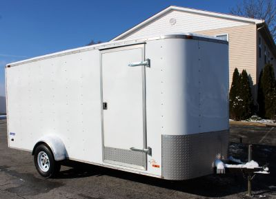 Pre-Owned 2007 Pace 6'x14' Motorcycle Trailer