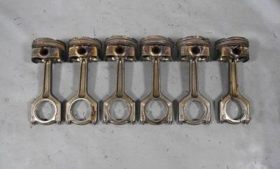 Sell BMW N54 6-Cyl Twin Turbo 3.0L Piston and Connecting Rod Set of 6 151k 2008-2010 motorcycle in Norristown, Pennsylvania, United States, for US $350.00