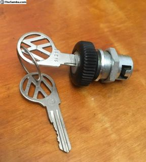 NOS Glove Box Lock VW (133 857 131)