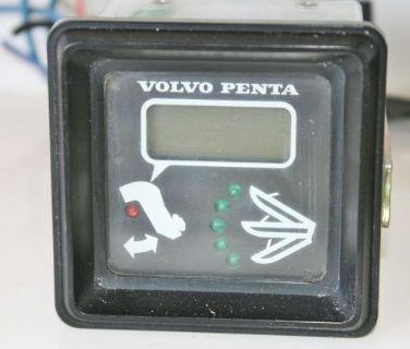 Find USED Volvo Penta 828731 Electric Tilt Trim Indicator Gauge Square TESTED GOOD motorcycle in Daytona Beach, Florida, United States, for US $109.99