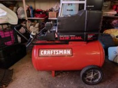 craftsman air compressor 5.5hp 20 gal