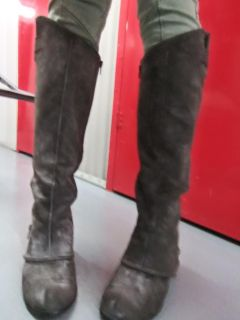 Suede boots by Jessica Simpson