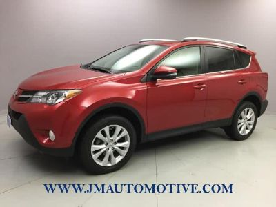 2013 Toyota RAV4 Limited (Barcelona Red Metallic)