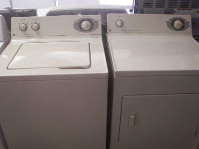 GE Washer and Dryer price for set-large tub size