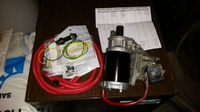 Evinrude Johnson Electric Starter and bracket BOTH NEW
