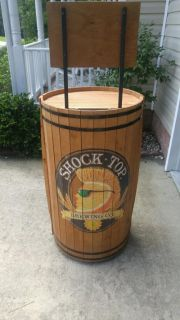 Shock Top Barrel Shelf