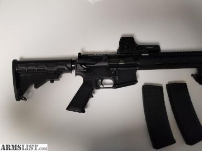 For Sale: RUGER AR15 E/EOTECH