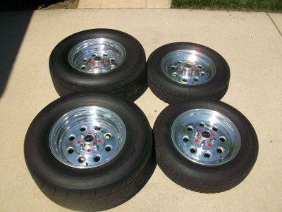 Sell WELD RACING DRAGLITE WHEELS SET 4 LUG MUSTANG 5.0 motorcycle in Chicago, Illinois, United States