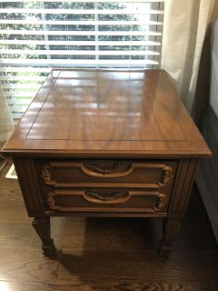 Solid wood end table or night stand