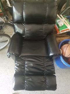 Leather Recliner - Like New.