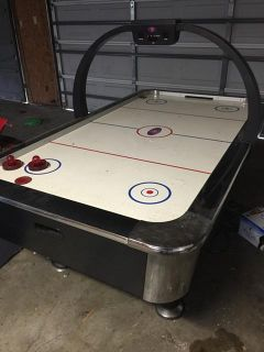 $100, Air Hockey Table