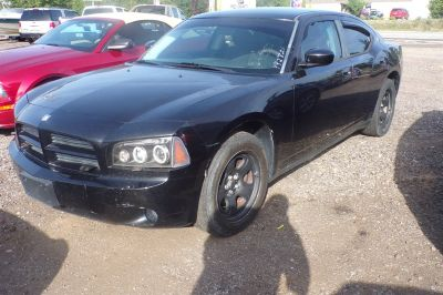 2010 Dodge Charger Police (Black)