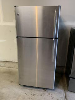 GE stainless 21cu.ft