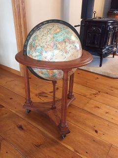 Vintage World Classic globe and stand