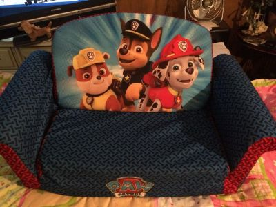 Paw Patrol couch bed child PPU