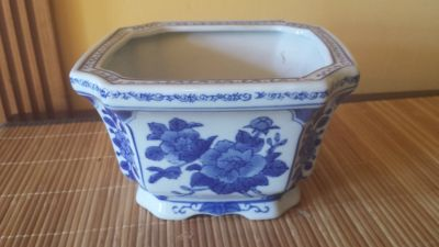 Blue and White Decorative Pieces