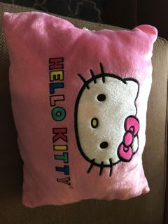 Hello kitty that turns into a pillow.