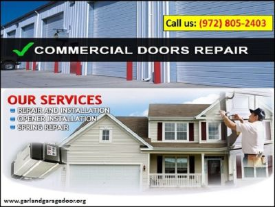 Garage Door Spring Repair   972-805-2403   Garland, TX