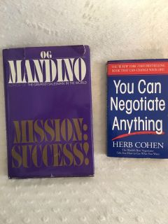 Mission Success and You can Negotiate Anything