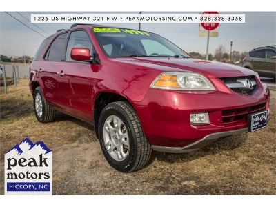 2006 Acura MDX Touring (Red)