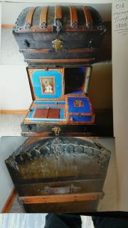 1800's trunk (orginal, not refinished)