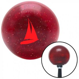 Purchase Red Sail Boat Red Metal Flake Shift Knob with 16mm x 1.5 Insert 351 accessories motorcycle in Portland, Oregon, United States, for US $29.97